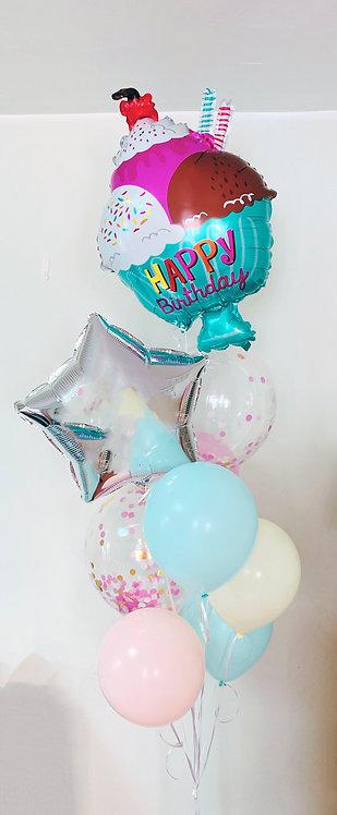 Birthday Bouquet 1- Ice Cream party