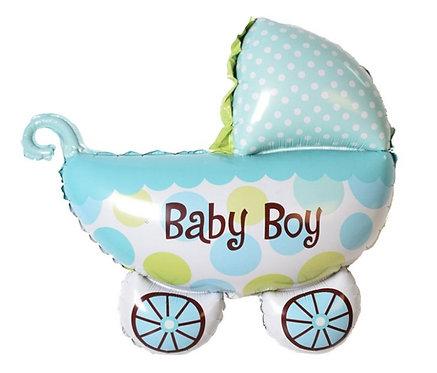 Baby Boy Car 鋁氫氣球 Balloon