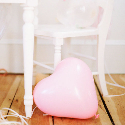 "12"" 心型啞光氣球 Heart Shaped Matt Balloon"