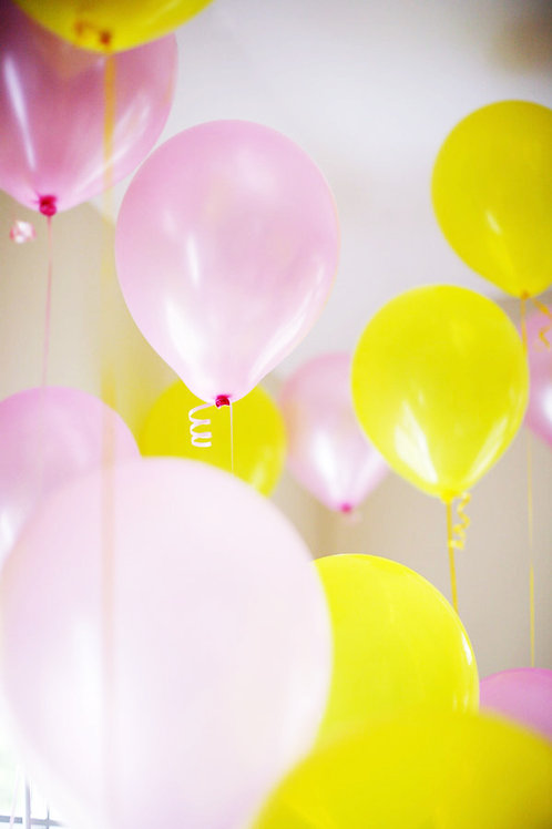 """【10個裝】10"""" 珠光圓形乳膠氣球 Thicker Glossy Balloon"""