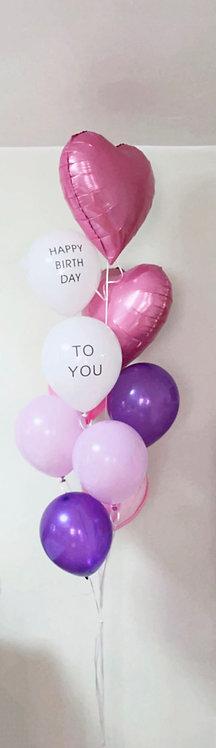 Birthday Bouquet 7- Purple lover