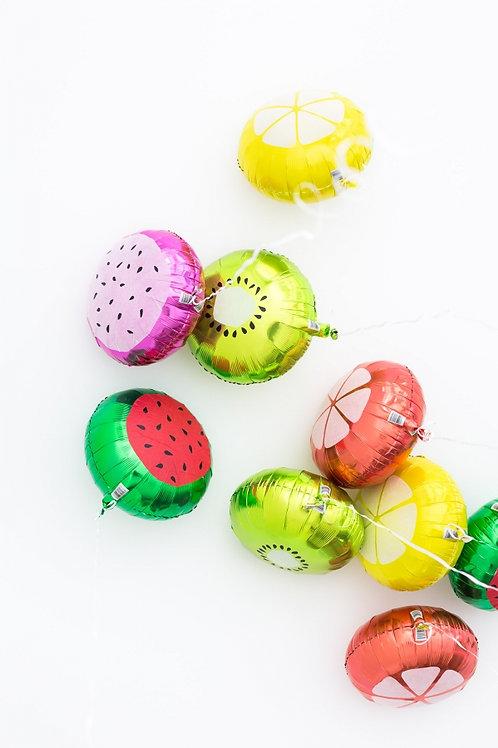水果造型 鋁氫氣球 Fruit Balloon