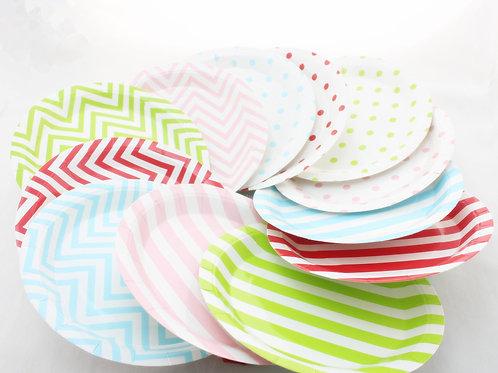12件裝 紙碟 Paper Plates