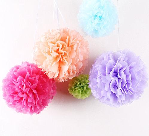 """6"""" 紙拉花球 Paper Flower Ball"""