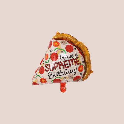 迷你PIZZA生日汽球 Mini Pizza Balloon