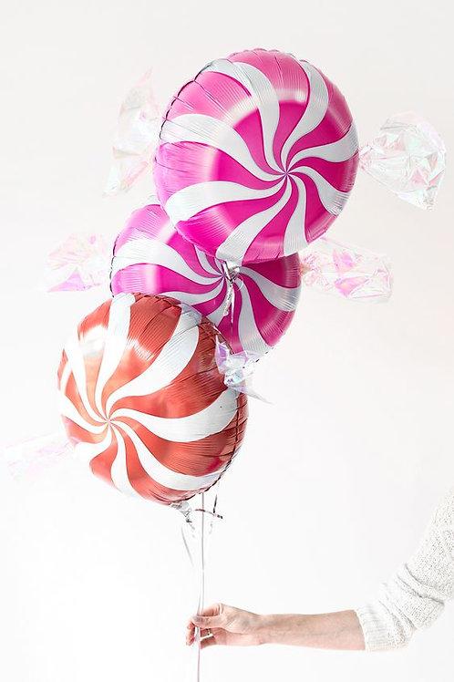 波板糖 鋁氫氣球 Lollipop Balloon