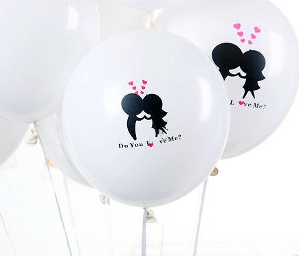 "12"" DO YOU LOVE ME 卡通氣球 Cartoon Balloon"
