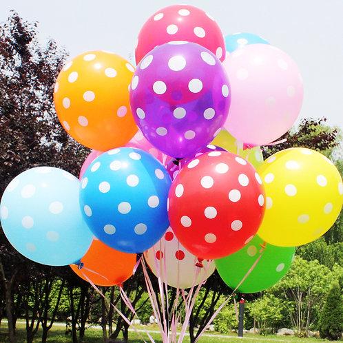 "12"" 波點氣球 Dotted Pattern Balloon"