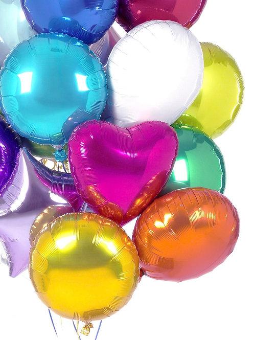 "10"" 小型 彩色鋁氫氣球 Small Foil Balloon"