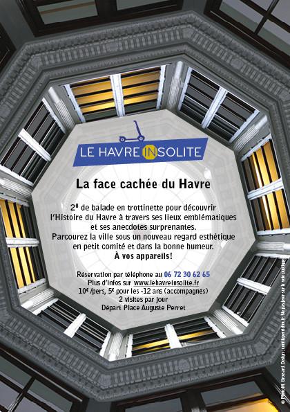 flyer touristique Le Havre Insolite
