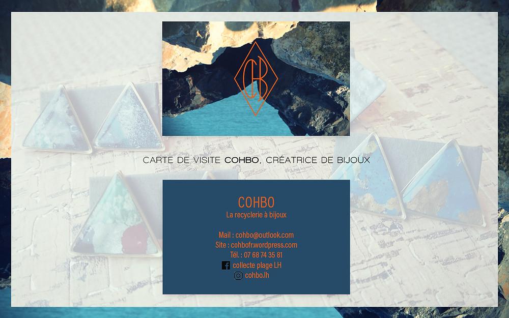 Carte de visite COHBO
