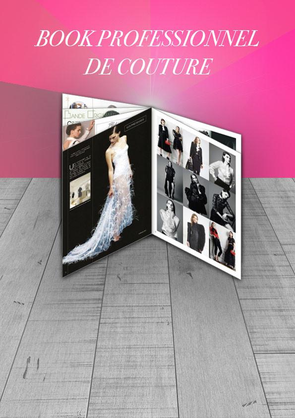 Book professionnel couture Valérie Kaleta