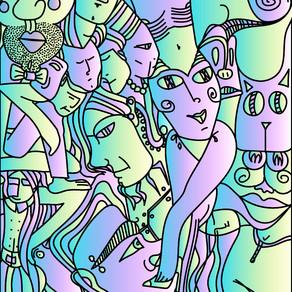 Illustration abstraite #5