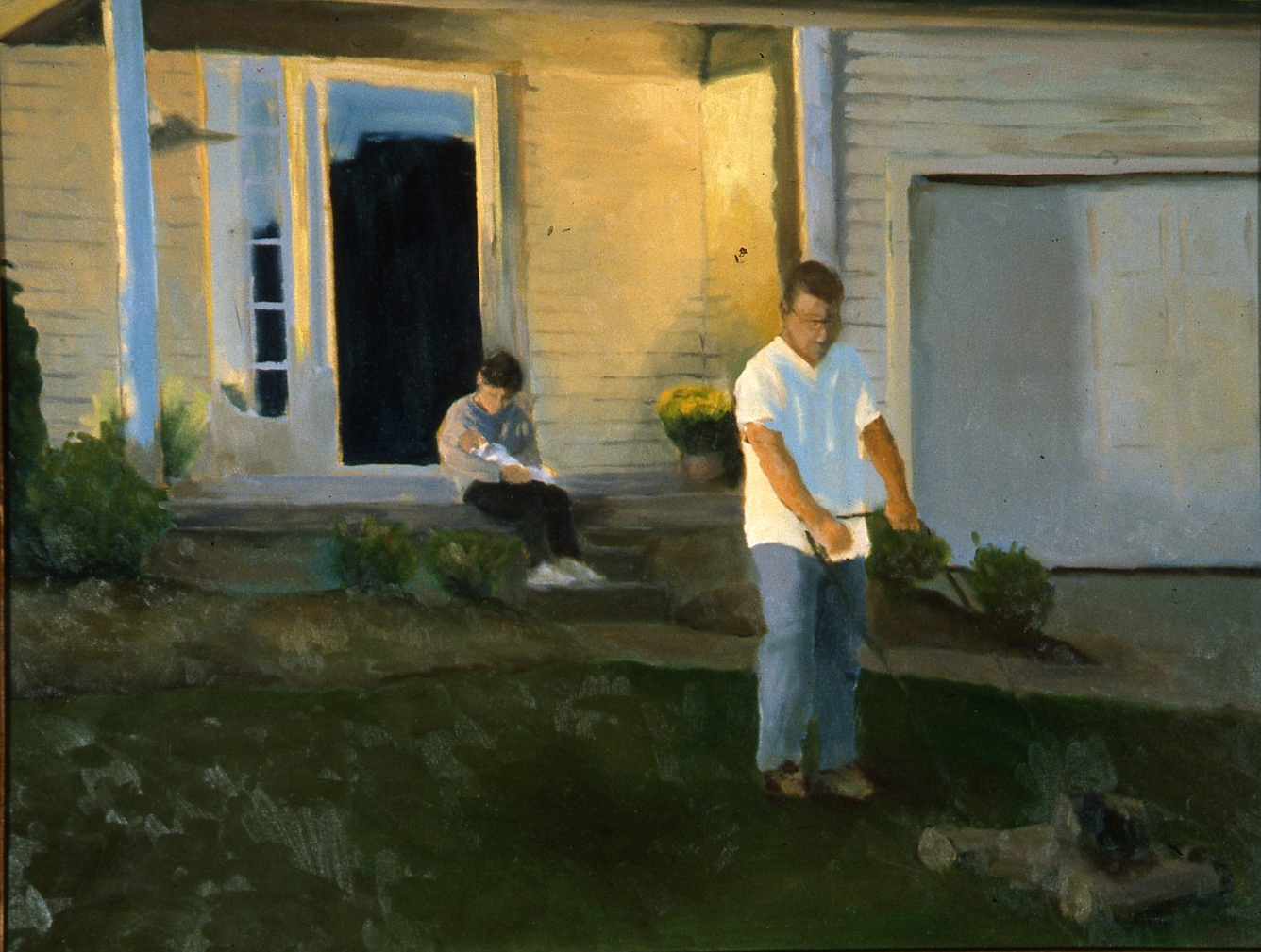 False Jealousy.2006.oil  on canvas 30x24.jpg