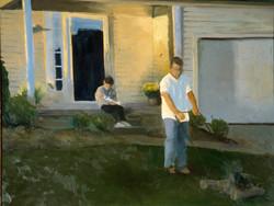 False Jealousy.2006.oil  on canvas 30x24.jpg