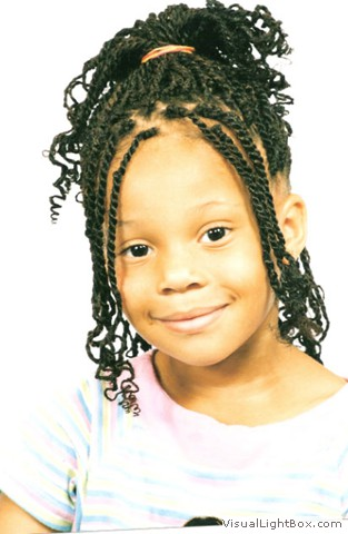 Kids Kinky Twists