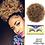 Thumbnail: 8 inch Short Afro Puff Synthetic Hair Bun Chignon