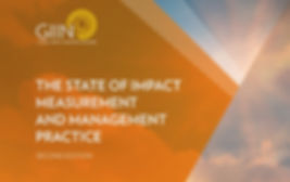 """GIIN highlights GAWA Capital in its Report """"The State of Impact Measurement and Management Practice"""""""