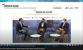 """GAWA Capital interviewed at El Confidencial's event """"Put your money into action"""""""