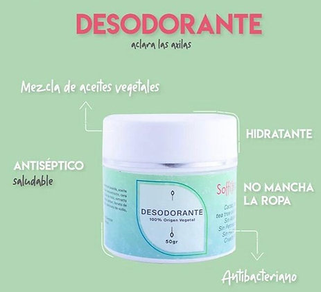 Desodorante 50gr Soffi