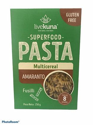 Pasta Amaranto Multicereal 250gr Kunachia