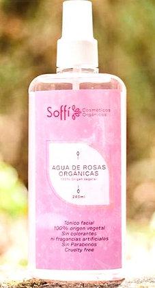 Agua de Rosas 240ml. Soffi