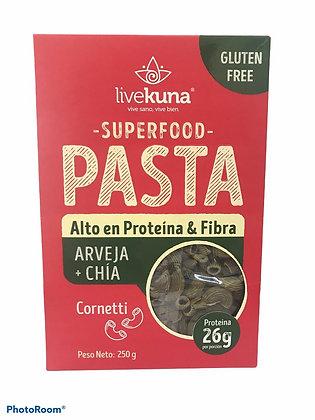 Pasta Arveja y Chia 250gr Kunachia