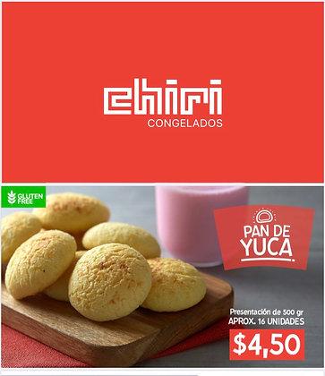 Pan de Yuca 500gr (16und) ChiriCONGELADO