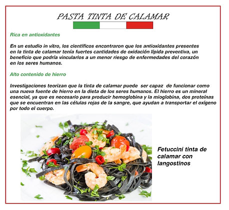 Pasta Artesanal Fetuccine y Tagliatelle