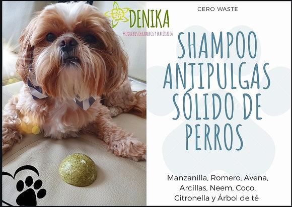 Shampoo Antipulgas Solido Perros Denika 60gr