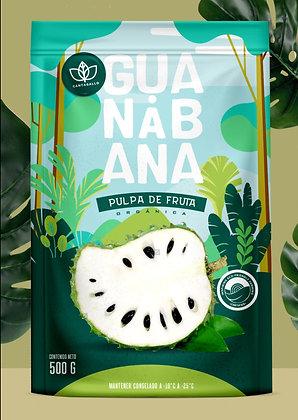Pulpa de Guanabana 500gr. Organica Cantagallo