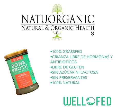 Bone Broth 250ml Well Fed