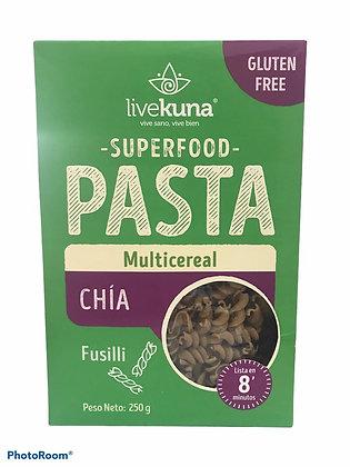 Pasta Chia Multicereal 250gr Kunachia