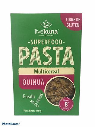 Pasta Quinua Multicereal 250gr Kunachia