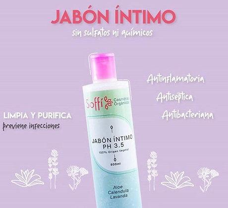 Jabon Intimo PH3,5 500ml Soffi