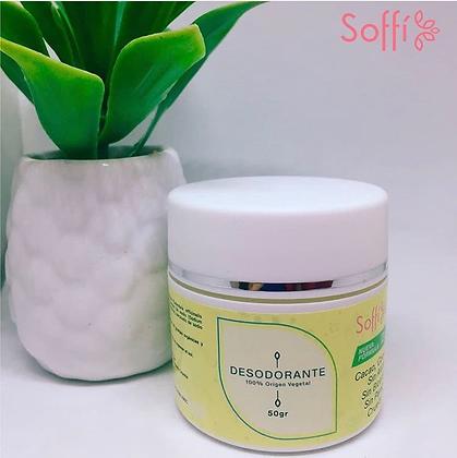 Desodorante Piel Sensible 50gr Soffi