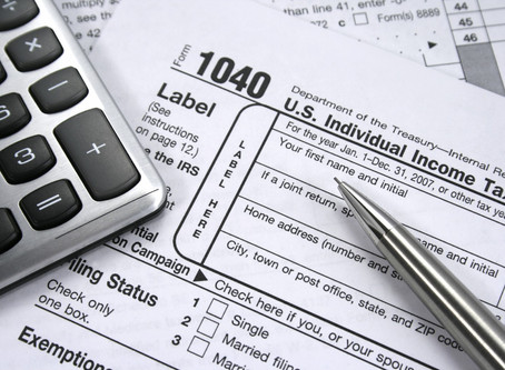 Important 2019 Tax Year Information