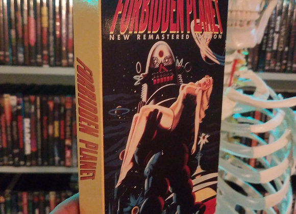 Forbidden Planet VHS