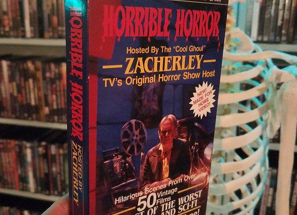 Horrible Horror VHS