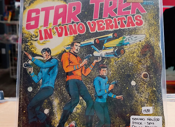 Star Trek - In Vino Veritas - 7in. (New Old Stock)