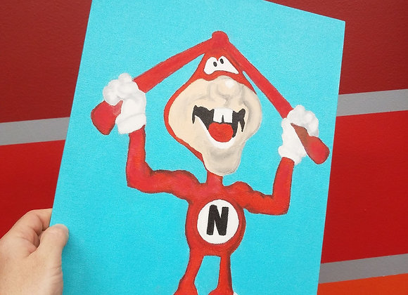 The Noid - Fan Art - Oil Painting