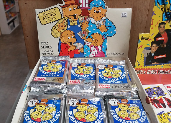 Berenstain Bears trading cards