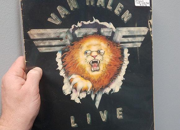 Van Halen 1982 Live Tour Program