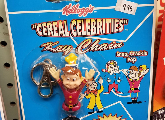 Kellogg's Cereal Celebrities Keychain