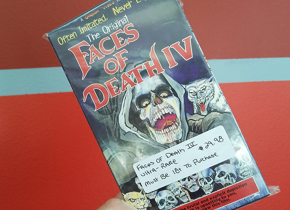 Faces Of Death IV - VHS