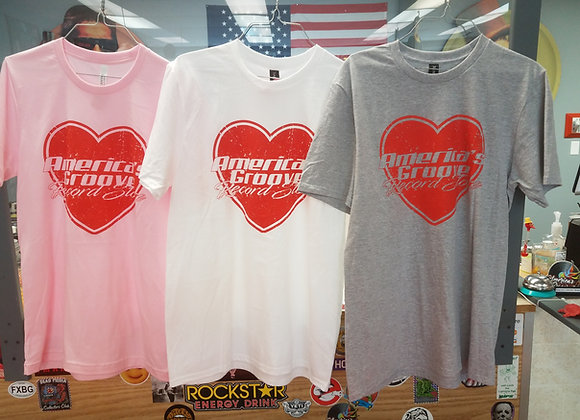 Limited edition - Share the Love - America's Groove Record Store t-shirt