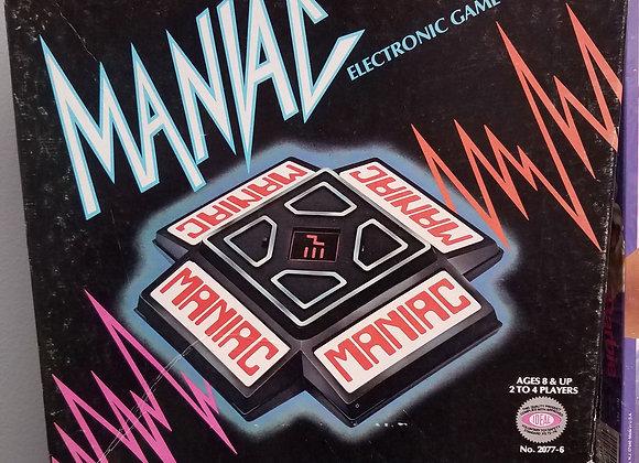 Maniac Electronic Game - Vintage