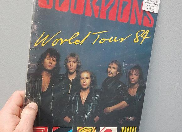 Scorpions - 1984 World Tour Program