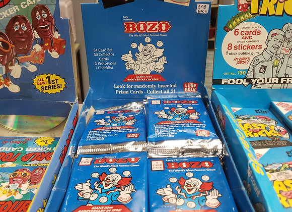 Bozo trading cards