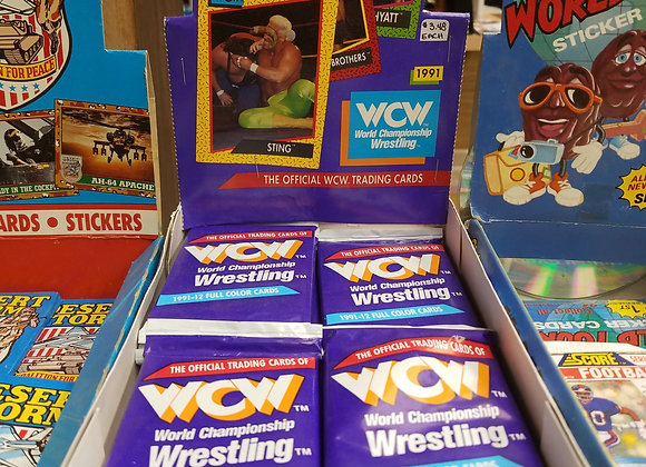 WCW trading cards